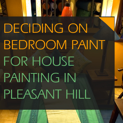 Deciding On Bathroom Paint for House Painting in Pleasant Hill