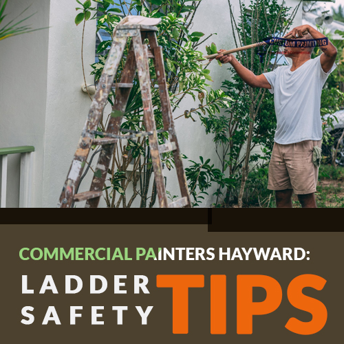 Commercial Painters Hayward: Ladder Safety Tips