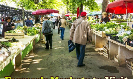 Farmers' Markets to Visit While in Pleasant Hill